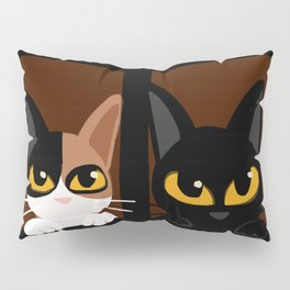 Lovely two cats Pillow Sham