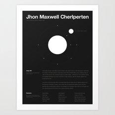 Jhon Maxwell Cherlperten Art Print