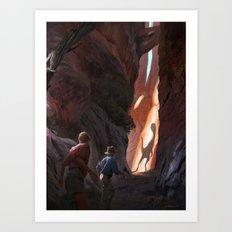 Exploring Utah Art Print