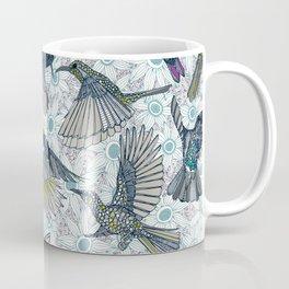hum sun honey birds blue Coffee Mug