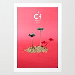 Californium Art Print