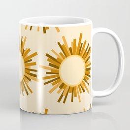 Art Deco Starburst Coffee Mug