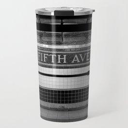 Fifth Ave Subway Travel Mug