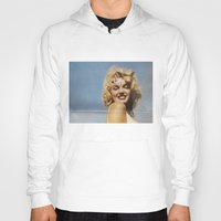 marylin monroe Hoodies featuring Marylin 1 by j.levent