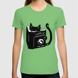World domination - for cats T-shirt