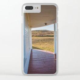 Hurd Round House, Wells County, North Dakota 21 Clear iPhone Case