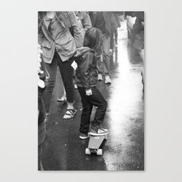 Skater Boy Canvas Print