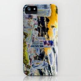Solarised London iPhone Case