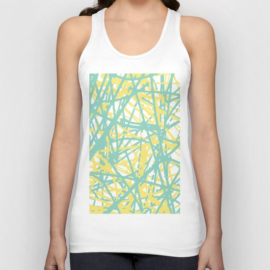 Daisy Scribble Navy, Mint and Lemon by projectm