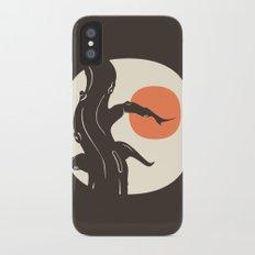 Haunted iPhone X Slim Case