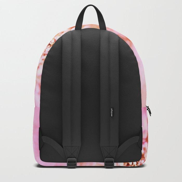 Pink shiny glitter - Sparkle Girly Valentine Backdrop on #Society6 Backpack