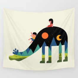 Up And Down Wall Tapestry