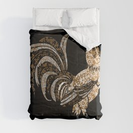 Le Coq Gaulois (The Gallic Rooster) Comforters