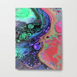 Jasper Sea - coral Metal Print