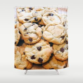 Chocolate Chip Cookies Shower Curtain