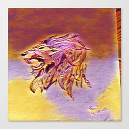 The Joker's Lion Canvas Print