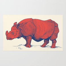 Red Rhino Rug
