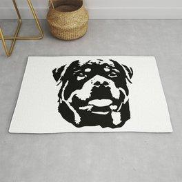 Rottweiler Dog Rug