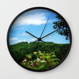 Toy Town Wall Clock
