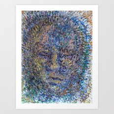 The Face of Man Art Print