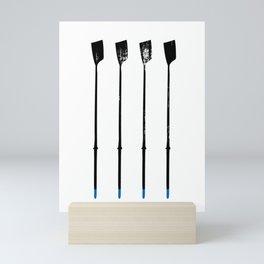 Rowing Oars 1 Mini Art Print