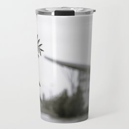 Stuff Behind Plants - CSU Rec Center Travel Mug