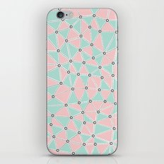 Seg African Blush Mint iPhone Skin
