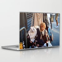 doll Laptop & iPad Skins featuring Doll by Jimmy Duarte