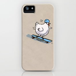 Long Board Chick iPhone Case