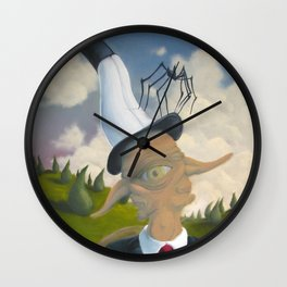 The Two Poles Wall Clock