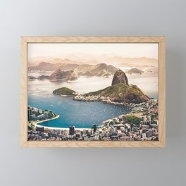 Rio de Janeiro Brazil Framed Mini Art Print