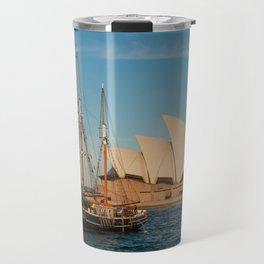 Southern Swan Sailing Ship Travel Mug
