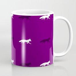 Purple Foxes! Coffee Mug
