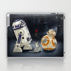 LOVE DROID & THE CAT Laptop & iPad Skin
