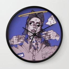 9-1-1 Wall Clock