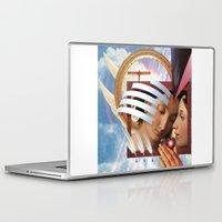 angels Laptop & iPad Skins featuring Angels by Paul Bateman