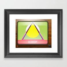 Kaleidoscope TV version A  Framed Art Print