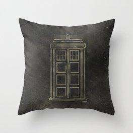 Doctor Who: Tardis Throw Pillow
