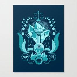 Bad King Canvas Print