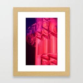 Pink Glass Framed Art Print