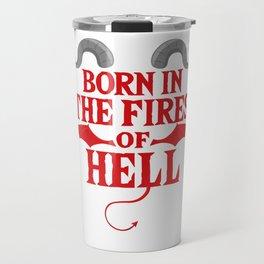 Gothic Devil Hell Satan Metal funny gift Travel Mug