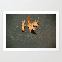 Oak on water Art Print