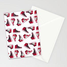 Jordan 1 Pattern Multi-Colors Stationery Cards