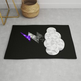Asexual Storm Cloud Rug