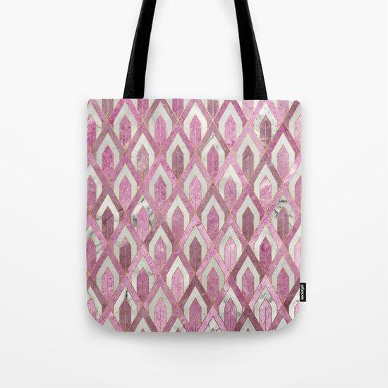Art Deco Marble Pattern IV Tote Bag