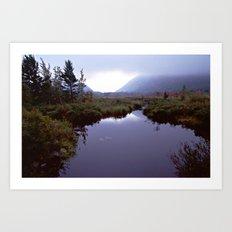 Acadia National Park Autumn Art Print