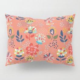 Pretty Floral Pillow Sham