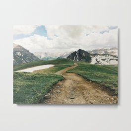 Colorado Mountain Road Metal Print