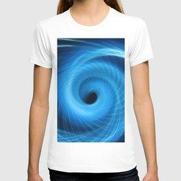 Eye Of The Storm Fiber Optic Light Painting T-shirt