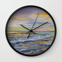 Shores of Heaven Wall Clock
